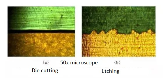 Antenna edge under the microscope